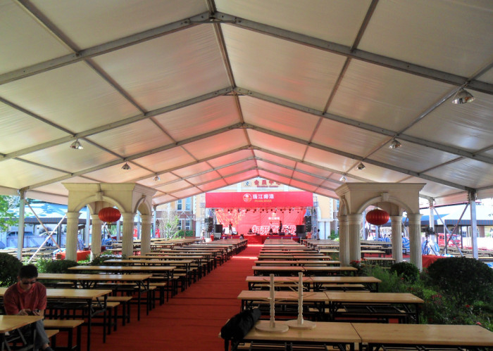Big Long Life Span Outdoor Event Tent For Beer Festival / Catering / Amusement Park